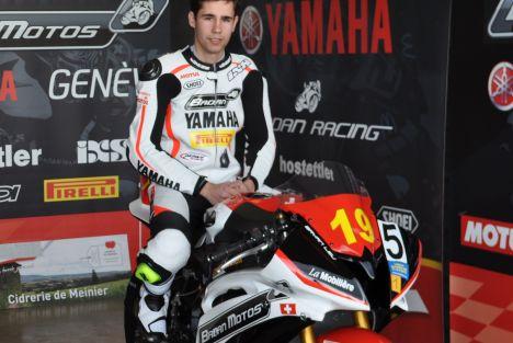 Interview Bryan Leu - Pilote Yamaha Badan en Championnat suisse STK600